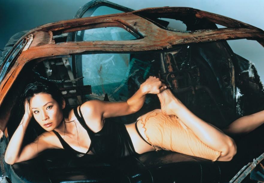 Люси Лью сексуальные фото стринги Lucy Liu sexy photo
