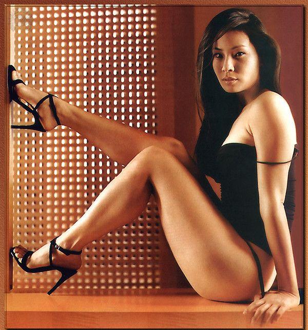 Люси Лью фото белье Lucy Liu photo lingerie