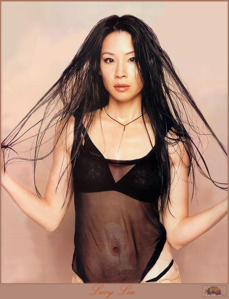 Люси Лью фото белье Lucy Liu photo underwear