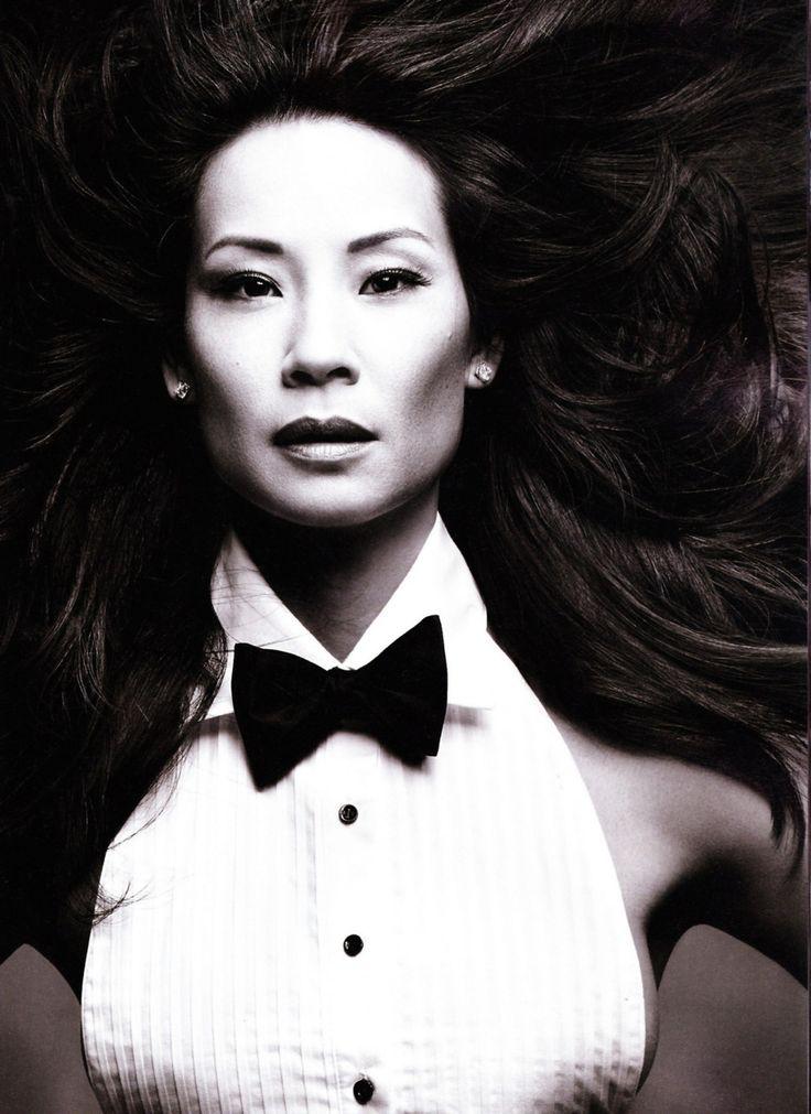 Люси Лью фото жилетка Lucy Liu photo