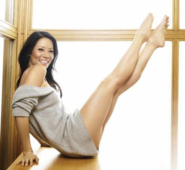 Люси Лью фото ноги Lucy Liu photo legs