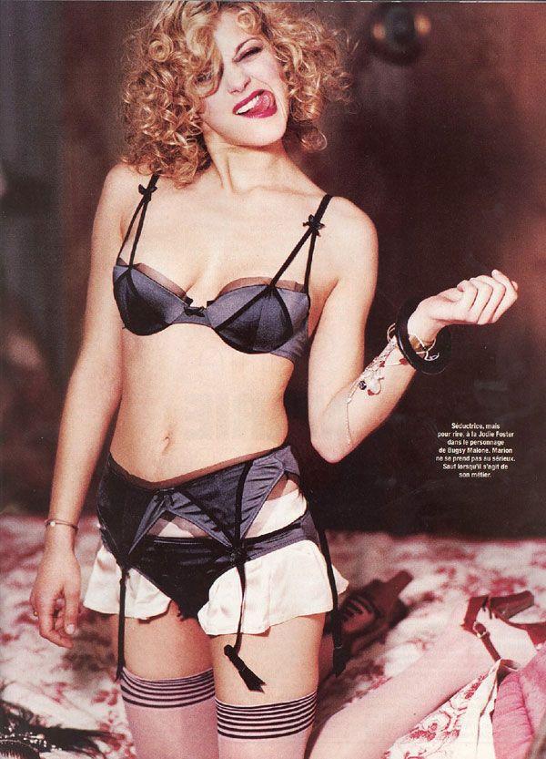 Марион Котийяр фото белье Marion Cotillard photo underwear