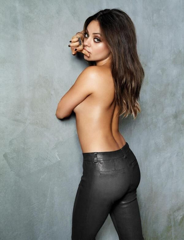 Мила Кунис фотографии голая Mila Kunis photo nude