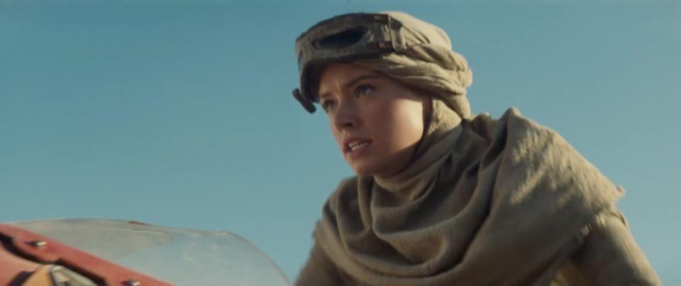 Первые кадры новых Звездных войн дочь Скайуокера и Леи