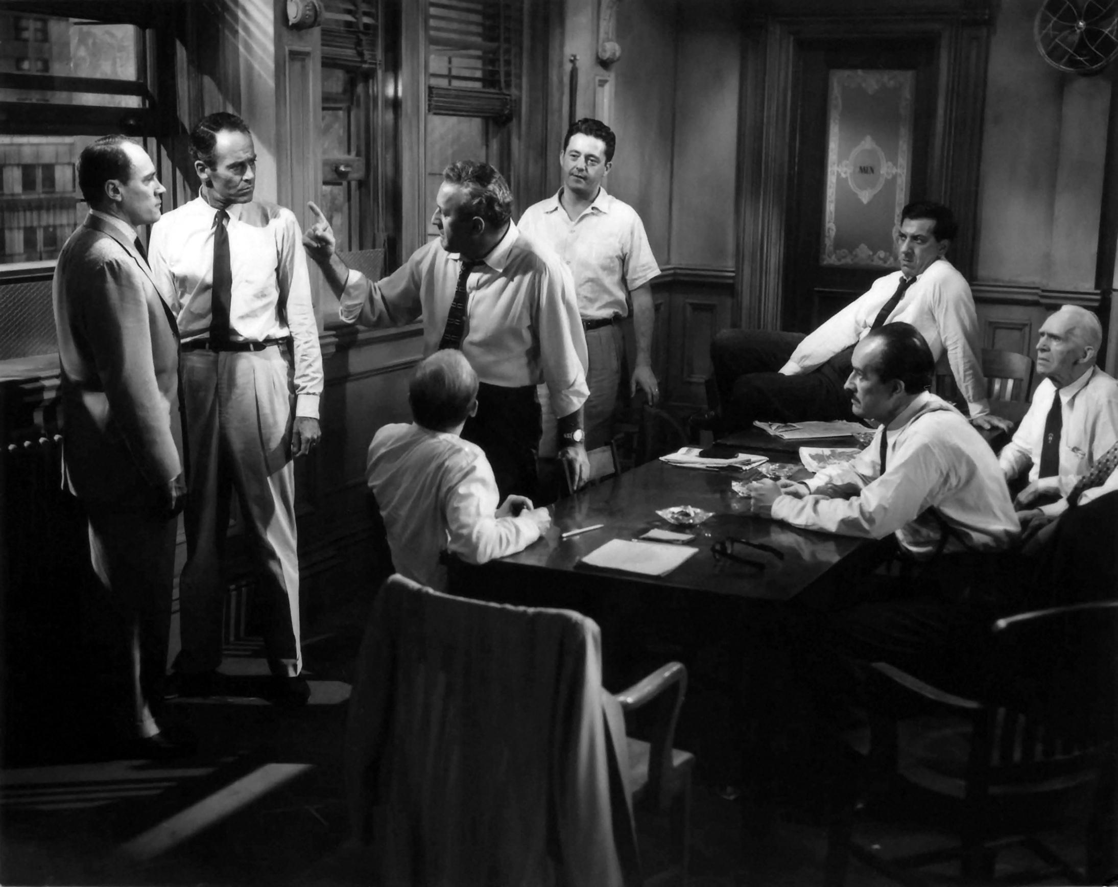 Разговорные фильмы 12 разгневанных мужчин 12 angry men