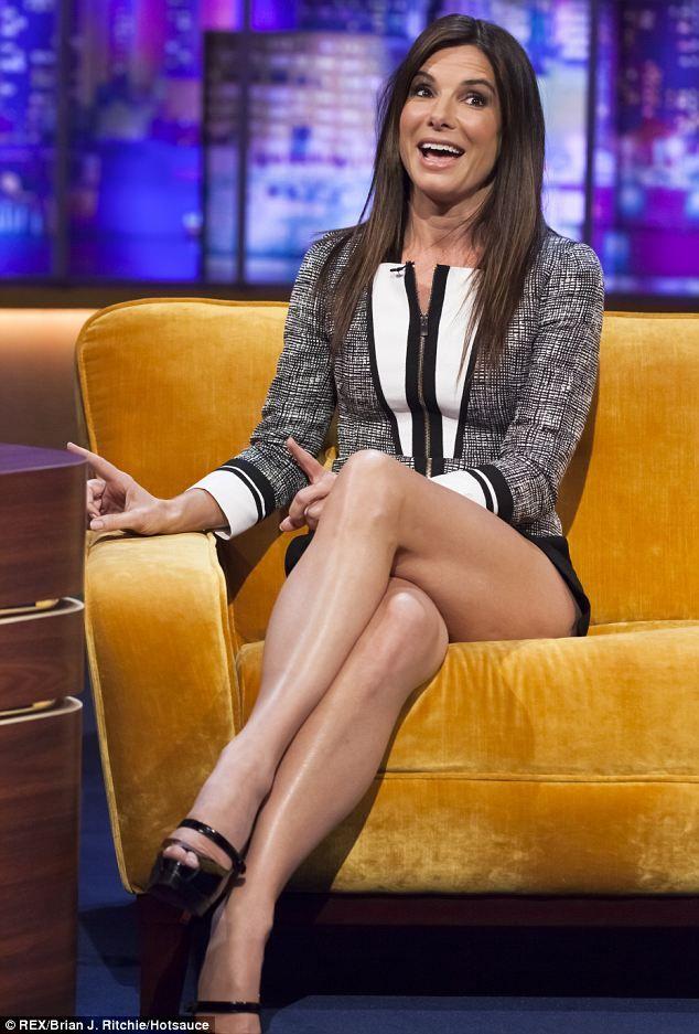 Сандра Буллок фото ноги Sandra Bullock photo legs