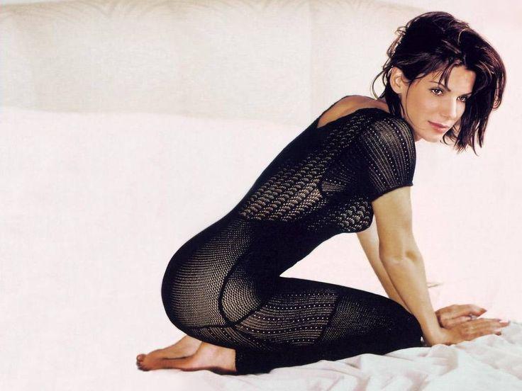 Сандра Буллок фото прозрачное платье Sandra Bullock photo see-through
