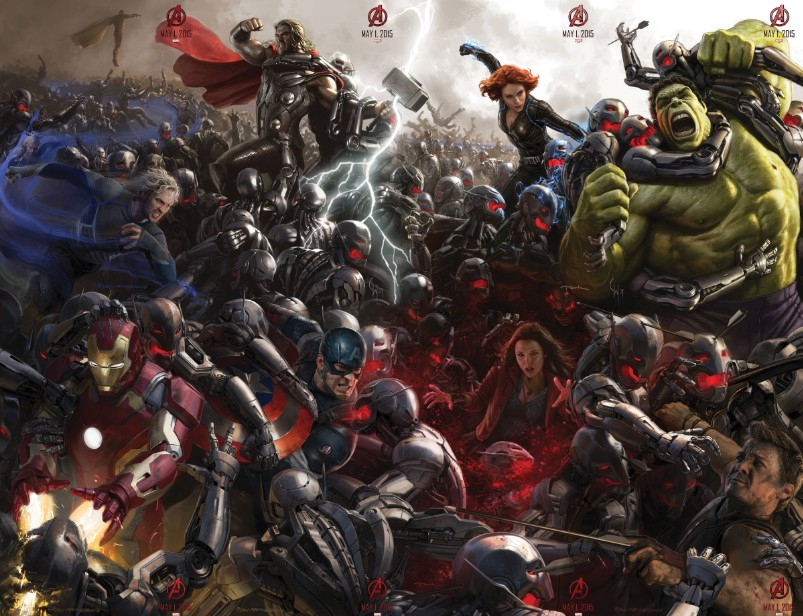 Трейлер Мстители Эра Альтрона (Avengers Age of Ultron) kinowar.com