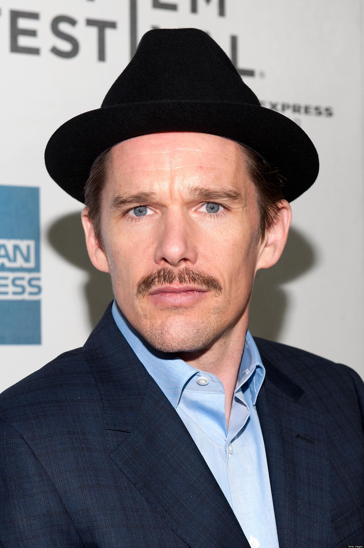 Ethan-Hawke Итан Хоук 44 года усы