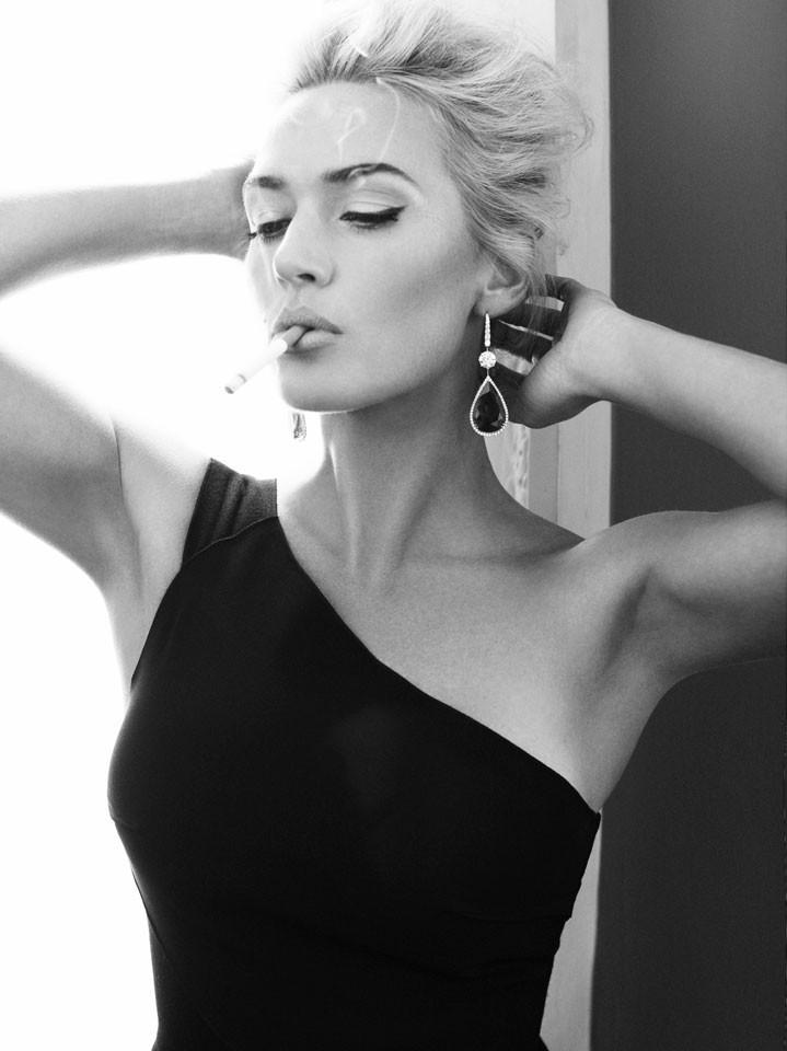 Kate Winslet photos cigarette Кейт Уинслет фото с сигаретой
