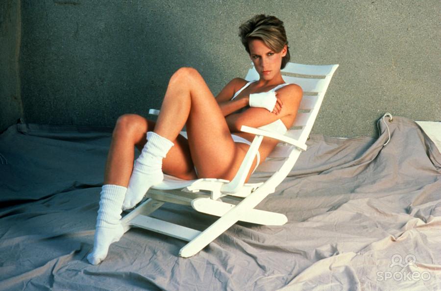jamie lee curtis photo lingerie  Джейми Ли Кёртис фото белье