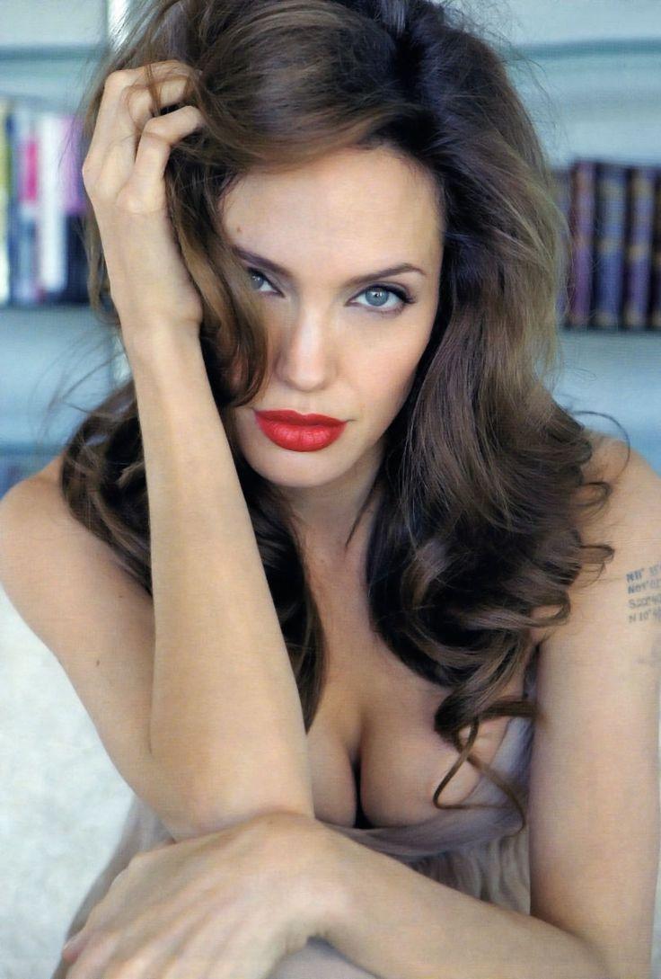 Анджелина Джоли фото волосы Angelina Joile photo hair