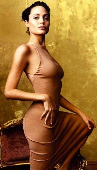 Анджелина Джоли фото платье Angelina Joile photo see-through
