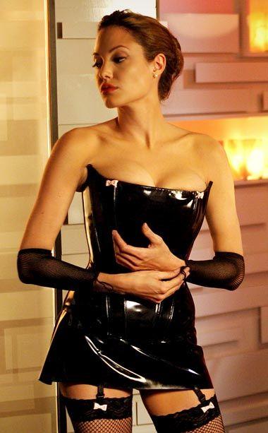 Анджелина Джоли фото садо-мазо Angelina Joile photo S&M