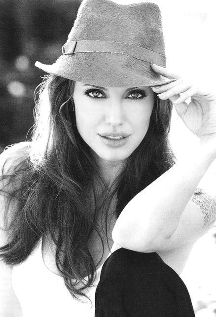 Анджелина Джоли фото шляпа  Angelina Joile photo hat