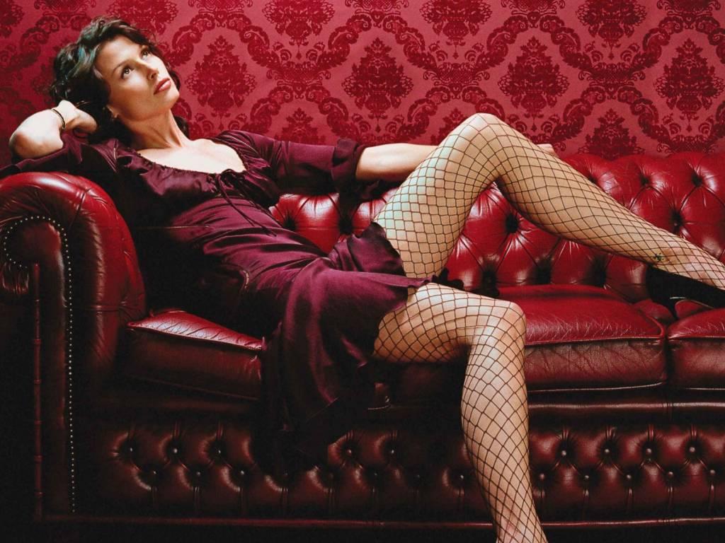 Бриджит Мойнахан фото чулки сетка Bridget Moynahan photo stockings