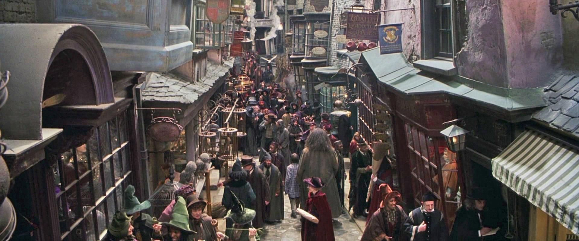 Где снимали Гарри Поттера Косой переулок Лиденхолл-маркет