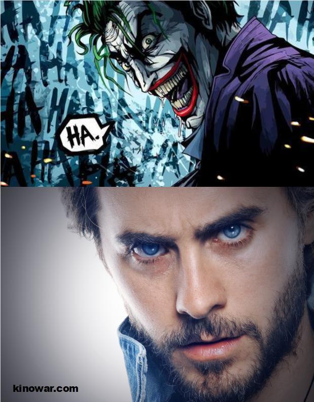 Джаред Лето Отряд самоубийц Джокер Jared Leto Suicide Squad Joker