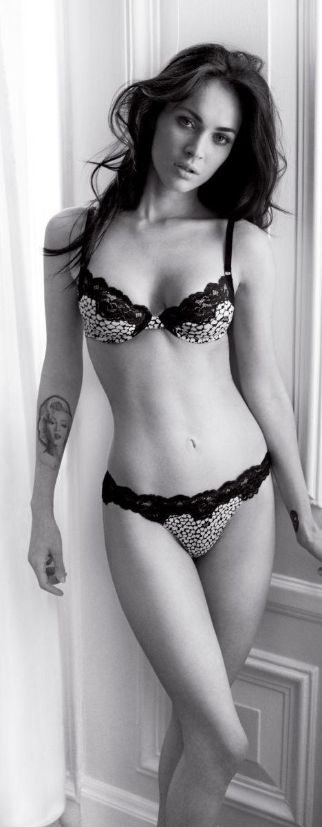 Меган Фокс фото белье Megan Fox photo lingerie