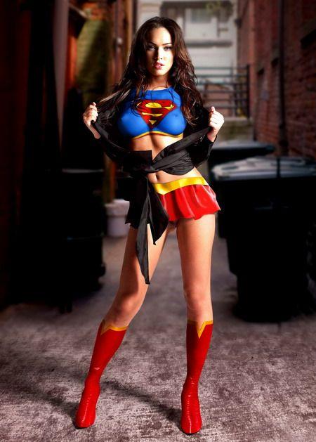 Меган Фокс фото супервумен Megan Fox photo superwoman
