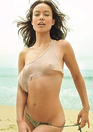 Оливия Уайлд фото грудь Olivia Wilde photo see-through