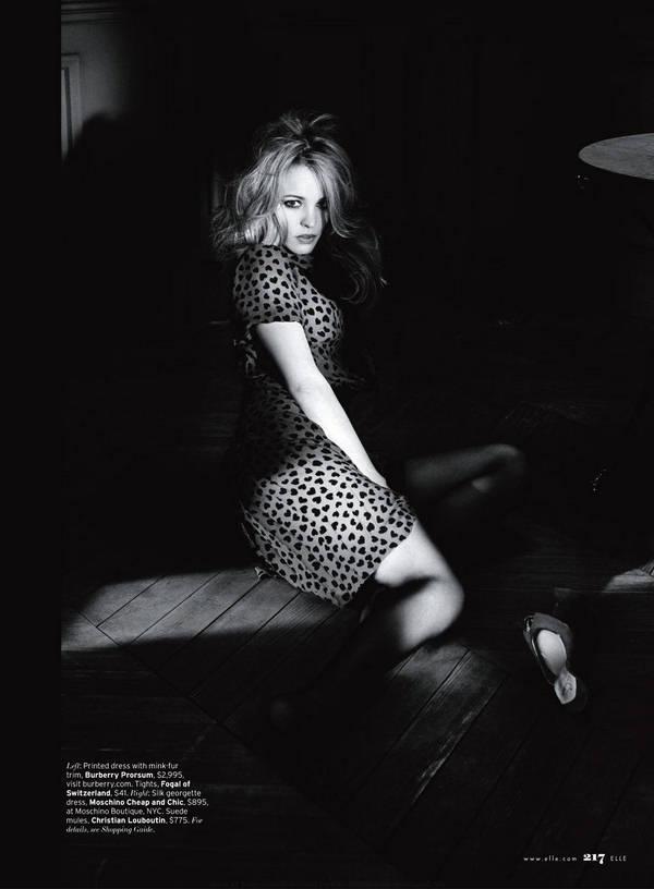 Рэйчел Макадамс фото черно белое   Rachel McAdams photo black and white