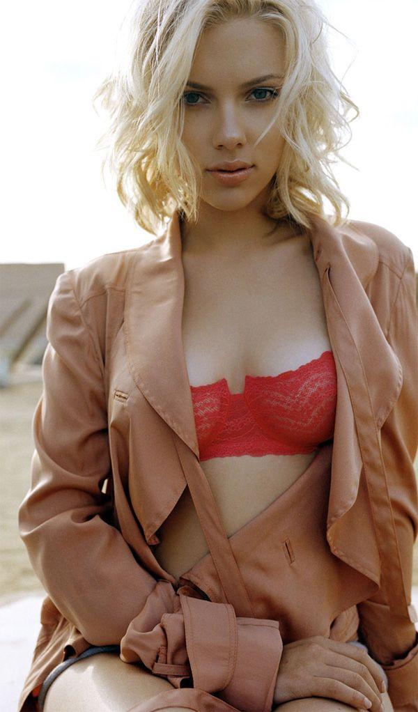 Скарлетт Йоханссон фото белье Scarlett Johansson photo bra