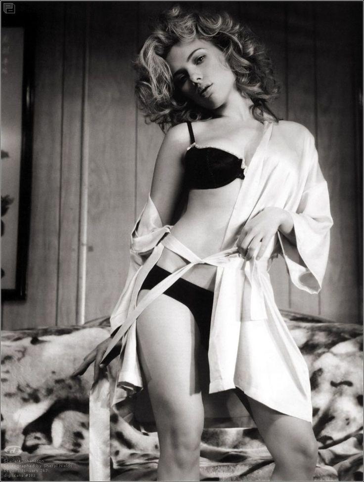Скарлетт Йоханссон фото белье Scarlett Johansson photo lingerie