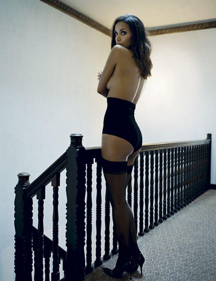 Хэлли Берри фото чулки Halle Berry photo stockings