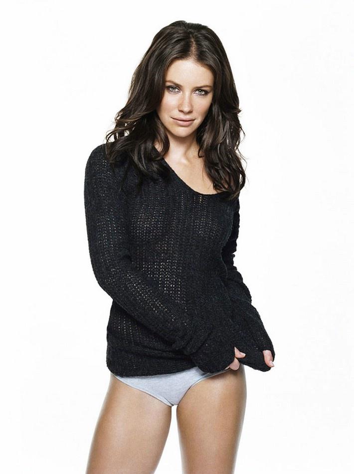 Эванджелин Лилли фото белье Evangeline Lilly photo lingerie