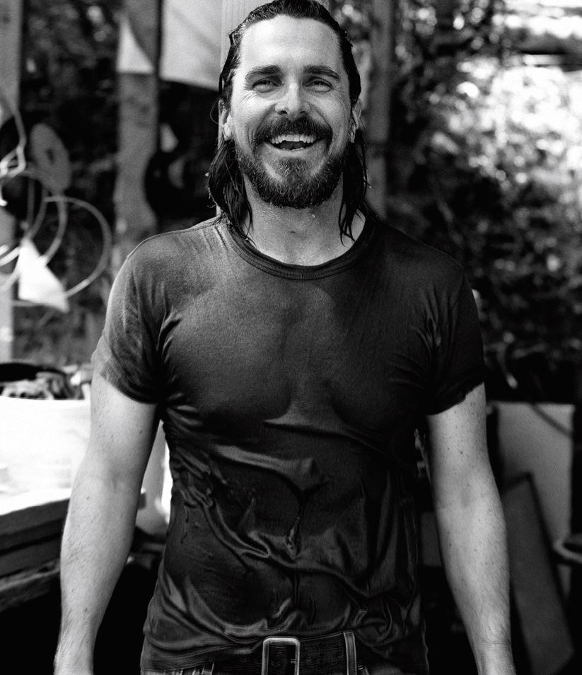 Christian Bale  The Wall Street Journal Кристиан Бэйл для Уолл Стрит Джорнал фото