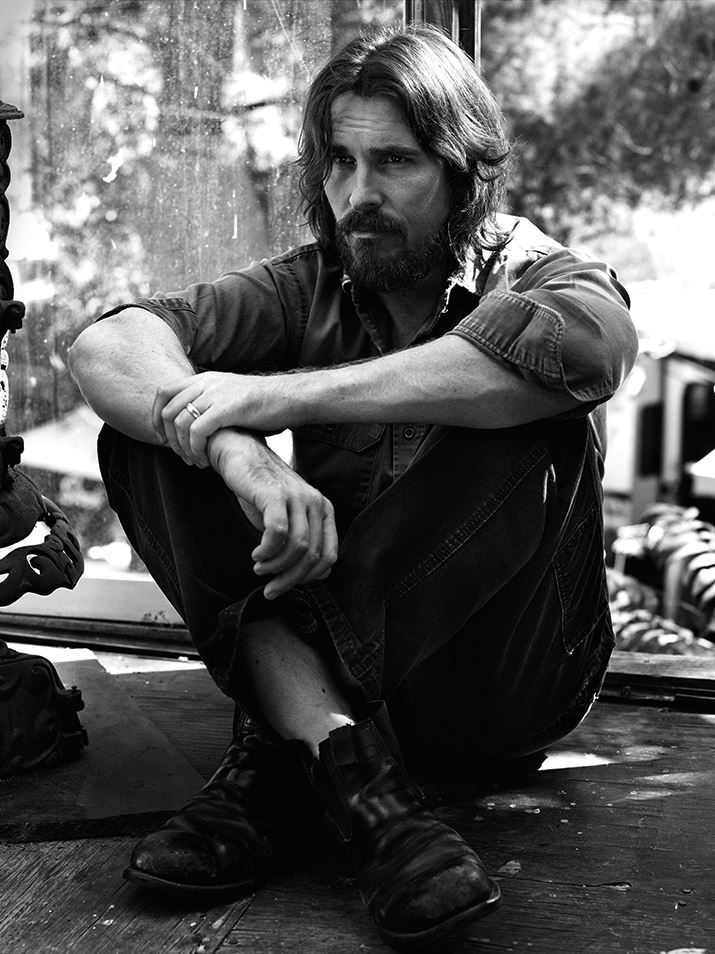 Christian Bale The Wall Street Journal photo Кристиан Бэйл для Уолл Стрит Джорнал