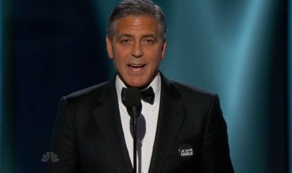 Джордж Клуни получил почетный приз имени Сесила Б. ДеМилла за свой вклад в кинематограф