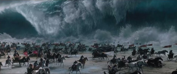 Исход Цари и боги (Exodus Gods and Kings) море расступается