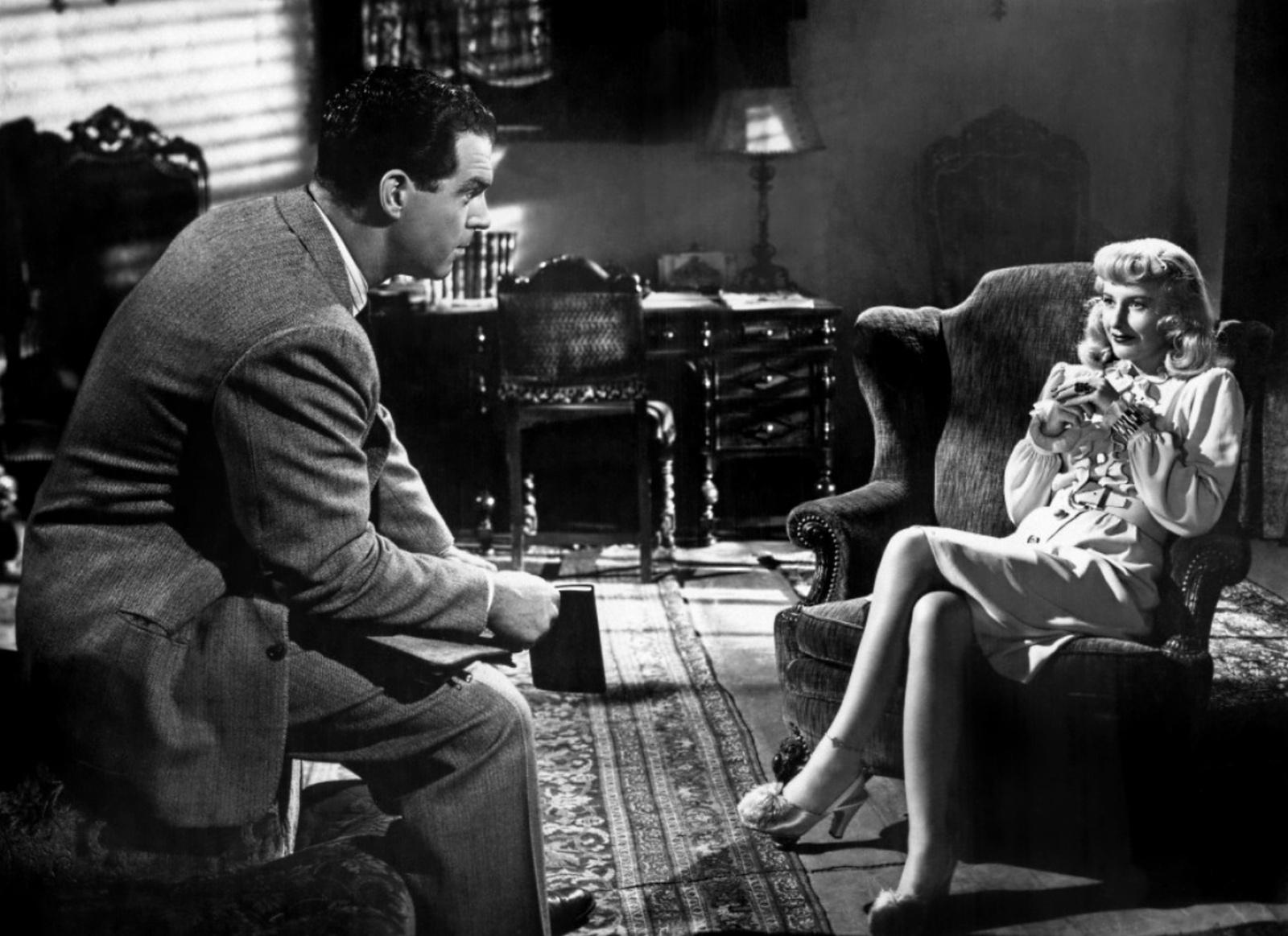 Top 250 фильмов IMDb Двойная страховка (Double Indemnity) (1944)