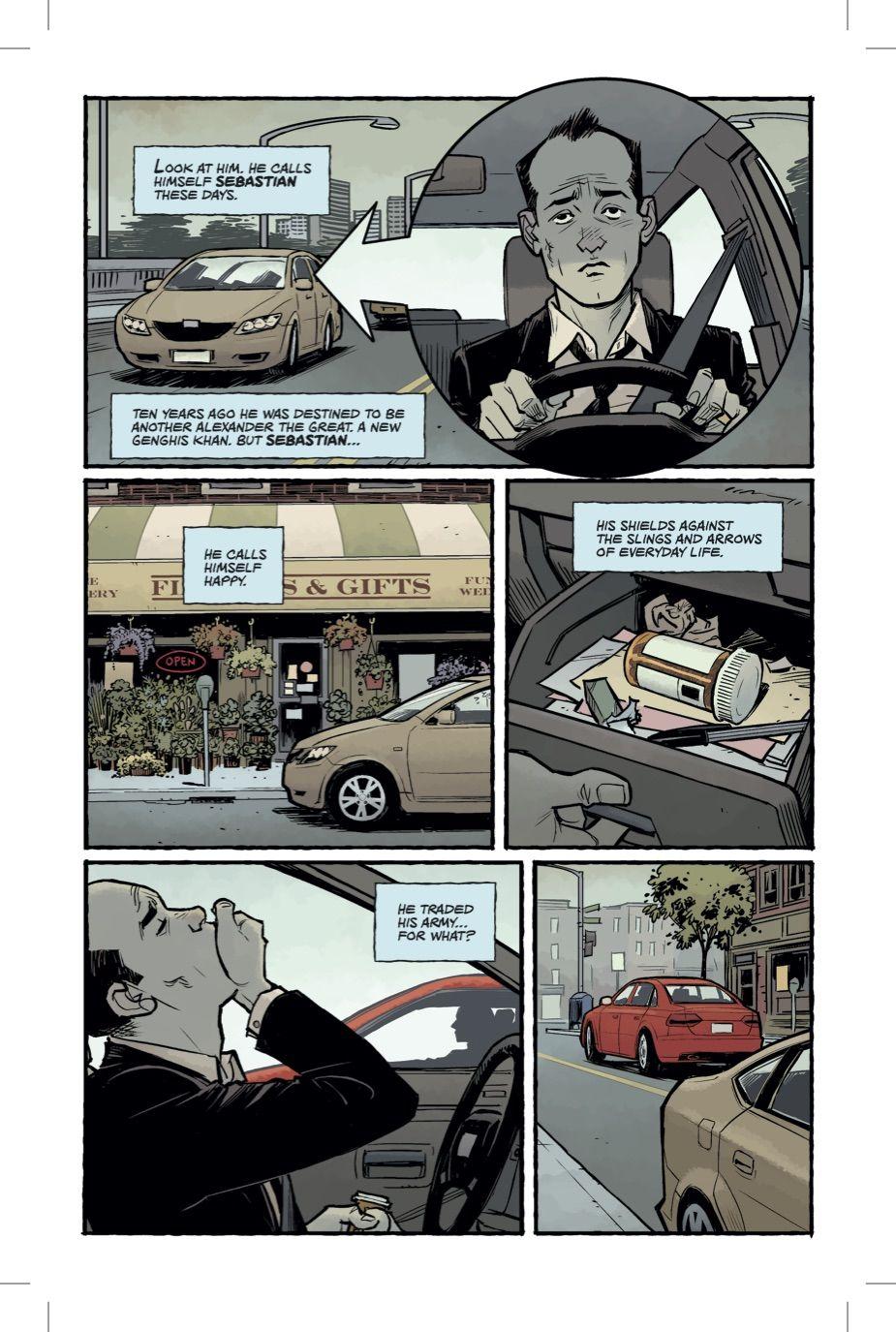 Бойцовский клуб 2 комикс Чак Паланик 1 страница