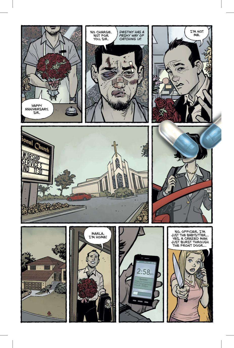 Бойцовский клуб 2 комикс Чак Паланик 2 страница