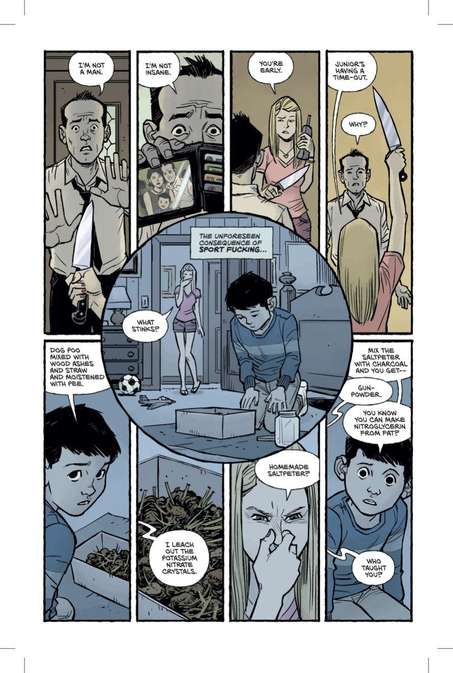 Бойцовский клуб 2 комикс Чак Паланик 3 страница