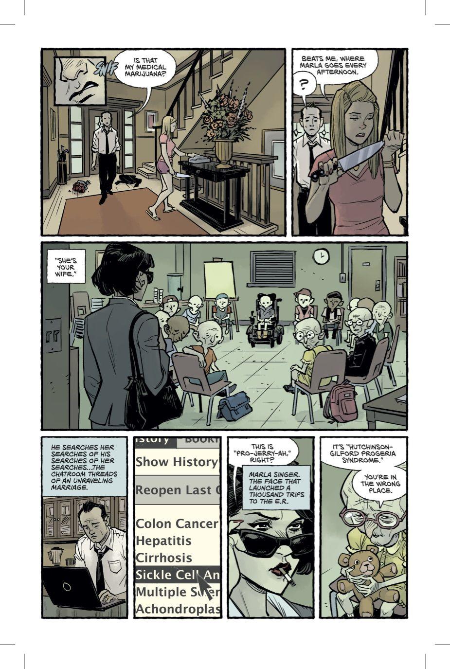 Бойцовский клуб 2 комикс Чак Паланик 4 страница