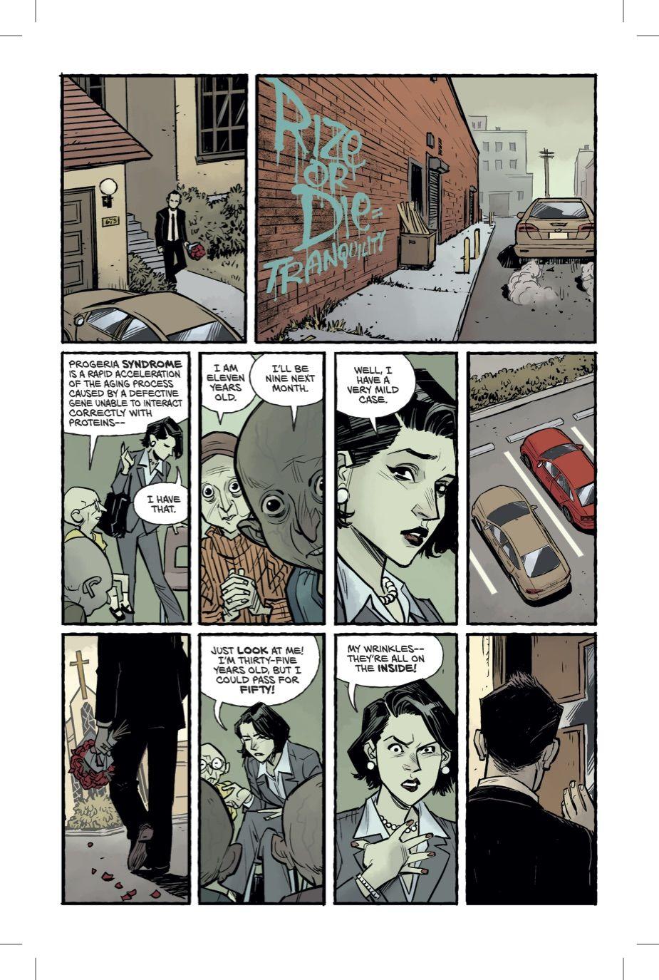 Бойцовский клуб 2 комикс Чак Паланик 5 страница