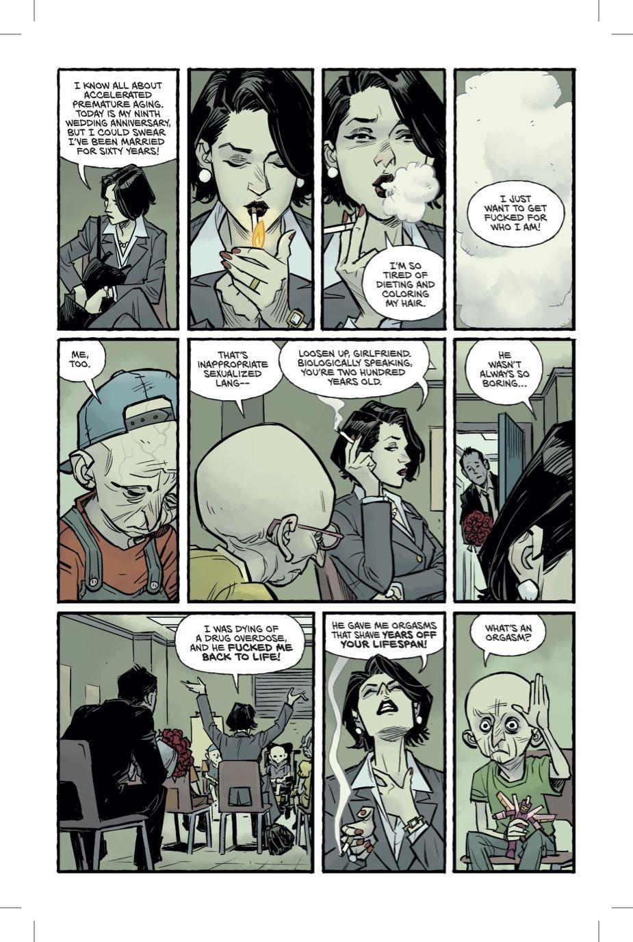 Бойцовский клуб 2 комикс Чак Паланик 6 страница