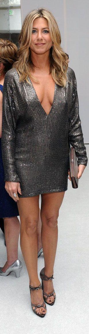 Дженнифер Энистон фото платье ноги jennifer aniston photo dress legs