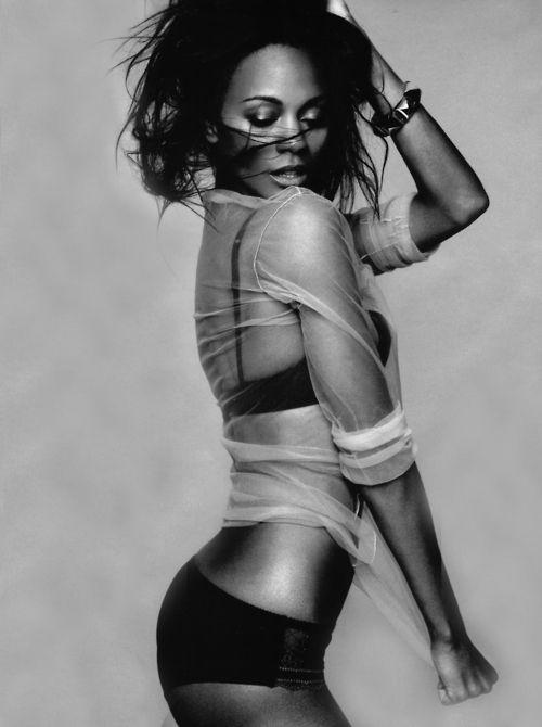 Зои Салдана фото белье Zoe Saldana photo lingerie