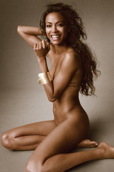 Зои Салдана фото обнаженная Zoe Saldana photo naked