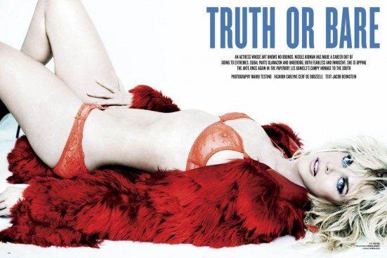 Николь Кидман фото грудь Nicole Kidman photo see-through