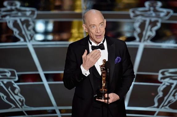 Оскар 2015 Дж К Симмонс получил Оскар за роль второго плана фильм Одержимость