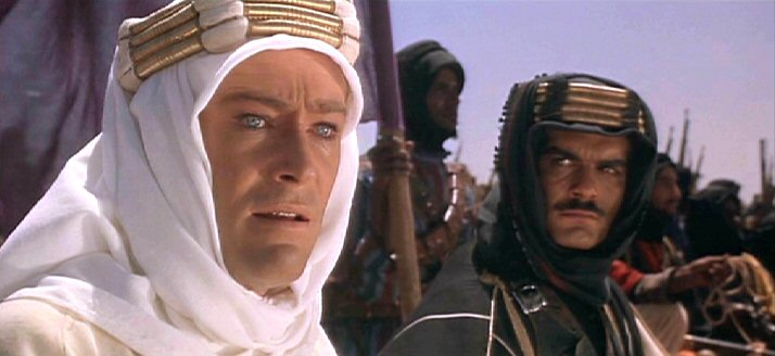 Top 250 фильмов IMDb Лоуренс Аравийский (Lawrence of Arabia)  (1962)