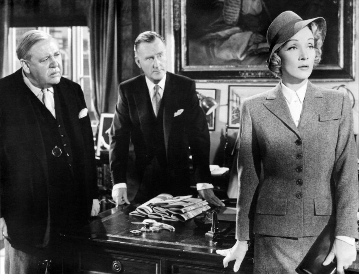 Top 250 фильмов IMDb Свидетель обвинения (Witness for the Prosecution) (1957)