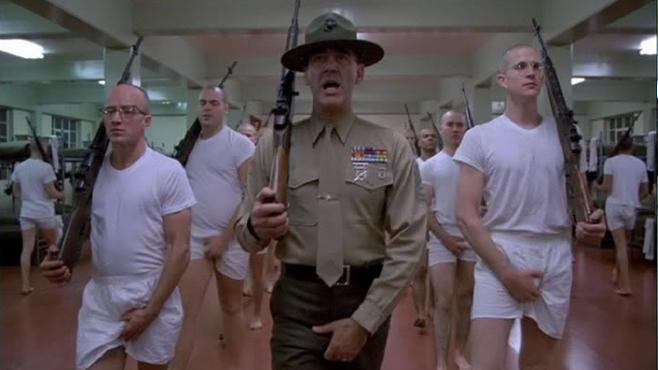 Top 250 фильмов IMDb Цельнометаллическая оболочка (Full Metal Jacket) (1987)