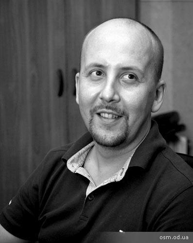 Олег Гей - арт-директор Одесской Студии Мультипликации